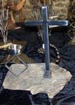 Bois flotté et sculptures sur métaux